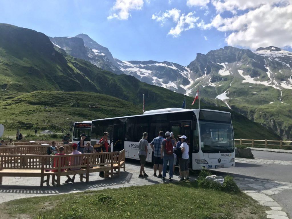 Das Ziel der Tour - auf rund 2000 Metern Seehöhe kommst du mit dem Bus an