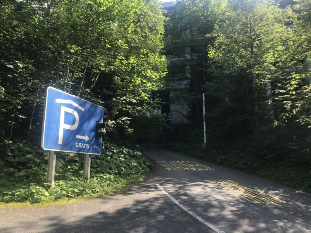 Kaprun Stausee Parkplatz - die kostenlose Parkgarage in Kaprun