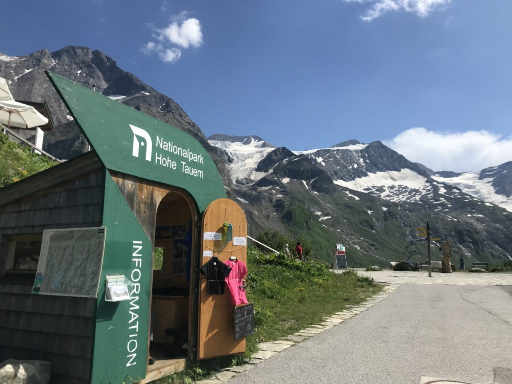 Nationalpark Hohe Tauern Information am Mooserboden